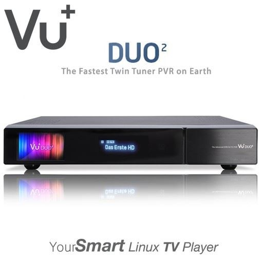 VU+ Duo2 Full HD Twin Linux Satellite Receiver 2x DVB-S2 Tuner